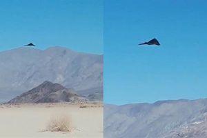 Bóng ma tàng hình F-117 cất cánh lại từ thung lũng chết
