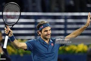 Roger Federer lọt vào bán kết Dubai Championships
