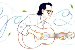 Nhạc sĩ Trịnh Công Sơn được vinh danh trên Google Search