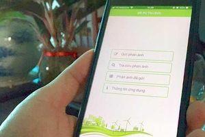 Xử lý phản ánh của người dân bằng ứng dụng trực tuyến