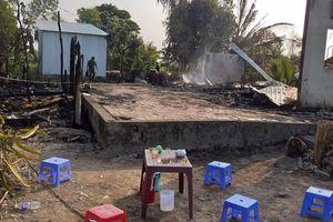 Hỏa hoạn thiêu rụi 3 căn nhà, 1 người tử vong
