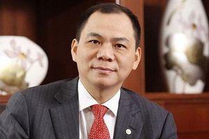 Ông Phạm Nhật Vượng rời vị trí Chủ tịch Vinhomes