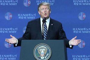 Những ngôn từ ấn tượng trong cuộc họp báo của ông Donald Trump