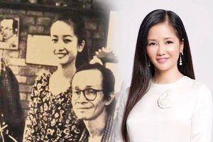 Hồng Nhung đăng ảnh quý bên cố nhạc sĩ Trịnh Công Sơn, nói lời xúc động