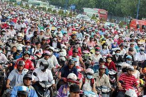 Đề xuất cấm xe máy vào trung tâm TPHCM từ năm 2030