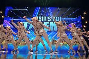 Nhóm thí sinh Việt gây ấn tượng với điệu nhảy nông dân tại 'Asia's Got Talent'