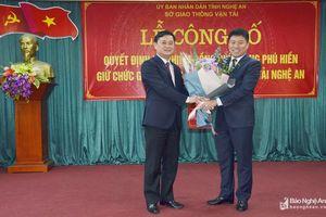 Trao quyết định bổ nhiệm Giám đốc Sở Giao thông Vận tải Nghệ An