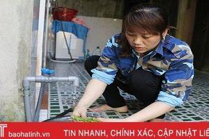 Hơn 46.000 hộ dân Hà Tĩnh vay vốn chương trình NS&VSMT nông thôn