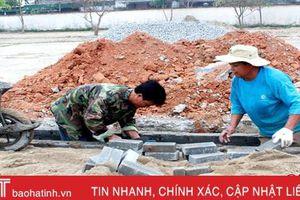 Xã tốp cuối Can Lộc dồn sức thực hiện 8 tiêu chí khó