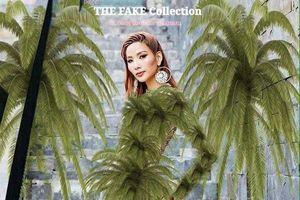 'Ứng dụng ca dao tục ngữ' fan hiến kế mẫu trang phục 'bá đạo' để Hoàng Thùy mang đến Miss Universe