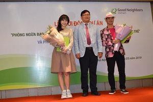 Hari Won, Xuân Bắc đồng hành cùng chương trình phòng, chống bạo lực học đường