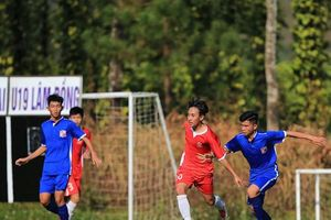 Vòng loại giải bóng đá U.19 Quốc: 4 suất còn lại chưa có chủ