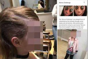 Bé gái hoảng loạn, tự cắt tóc mình khi làm theo Momo
