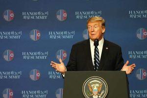 Tổng thống Trump nói gì sau khi được thông báo về bình luận của Triều Tiên trong cuộc họp báo muộn?