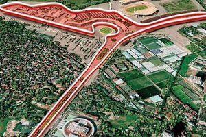 Duyệt quy hoạch chi tiết đường đua công thức 1- Grand Prix Hà Nội tỷ lệ 1/500