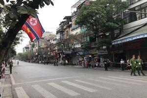 Các tuyến đường bị cấm để phục vụ đoàn xe Chủ tịch Kim Jong-un