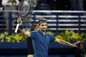 Thắng dễ sao trẻ Coric, Federer vào chung kết Dubai Open