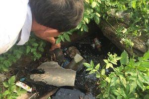 Tạm ngừng hoạt động lò mổ để xử lý hệ thống nước thải