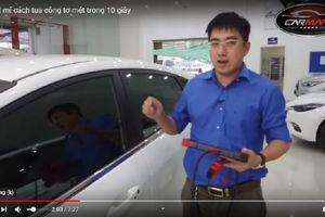 Thành viên diễn đàn OtoFun 'bật mí' cách tua công-tơ-mét ô tô trong 10 giây