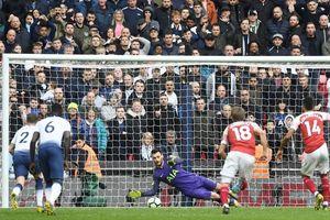 Aubameyang hỏng 11m, Arsenal tuột chiến thắng trước Tottenham