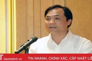 Ban Thường vụ Tỉnh ủy Hà Tĩnh giới thiệu chức danh, chữ ký đồng chí Hoàng Trung Dũng