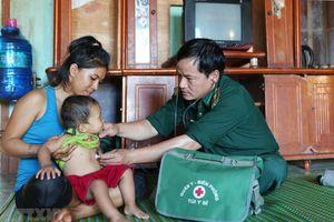 Người lính quân y: Điểm tựa vững chắc cho người dân ở biên giới