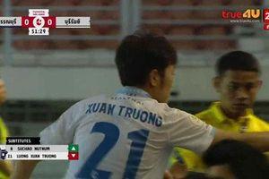 Xuân Trường mờ nhạt, Buriram United vẫn chưa thể chiến thắng