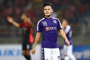 Quang Hải gây thất vọng với 5 trận liên tiếp chưa biết ghi bàn!