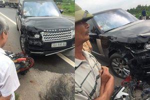 Va chạm với xe sang Range Rover, cặp vợ chồng đi xe máy thương vong