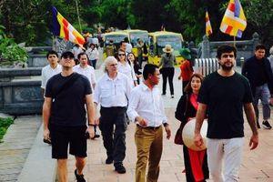 Đoàn phóng viên quốc tế thăm Quần thể danh thắng Tràng An