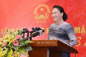 Chủ tịch Quốc hội Nguyễn Thị Kim Ngân gặp mặt Nhóm nữ đbqh và nữ Đại sứ, Trưởng cơ quan đại diện ngoại giao