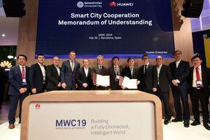 Huawei và Gelsenkirchen ký MoU về hợp tác Thành phố Thông minh tại 2019