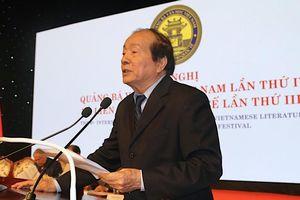 Nhà thơ Hữu Thỉnh: 'Quảng bá văn học là một chiến lược văn hóa lâu dài'