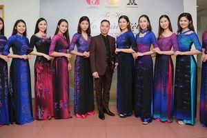 NTK Đỗ Trịnh Hoài Nam ra mẫu áo dài trị giá hàng trăm triệu đồng