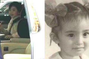 Con gái Dương Mịch lần đầu lộ mặt sau khi cha mẹ xác nhận ly hôn