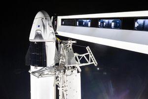 Tàu Crew Dragon của SpaceX kết nối thành công với trạm vũ trụ ISS
