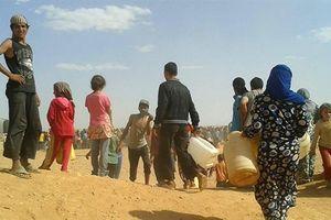 Mỹ ngăn cản sơ tán trại tị nạn Rukban làm gì?