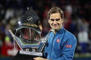 Roger Federer vô địch Dubai Championships