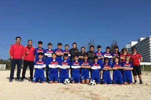 Đội U19 nữ Việt Nam thắng trận đầu tại Nhật Bản