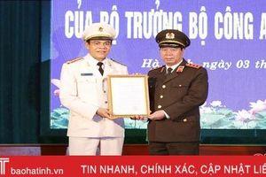 Bổ nhiệm Đại tá Võ Trọng Hải giữ chức Giám đốc Công an tỉnh Hà Tĩnh
