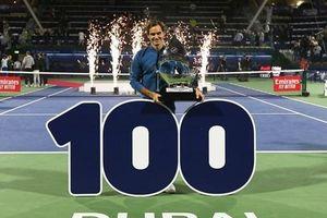 'Tàu tốc hành' Federer cán mốc 100 danh hiệu ATP trong sự nghiệp