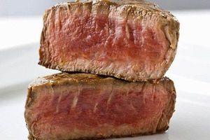 Công nghệ in 3D biến đậu và tảo thành... thịt bò bít tết
