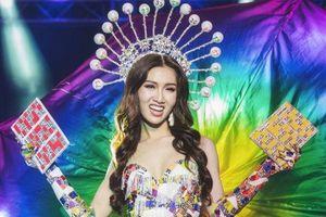 'Gánh lô tô' của đại diện Việt Nam và loạt trang phục độc dị trình diễn tại Hoa hậu chuyển giới Quốc tế 2019