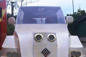 9x Nghệ An tự chế 'siêu xe' từ động cơ xe máy