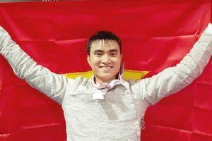 Nhà vô địch đấu kiếm Vũ Thành An kể chuyện khởi nghiệp
