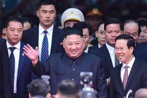 KCNA: Chủ tịch Kim Jong-un kết thúc tốt đẹp chuyến thăm chính thức Việt Nam