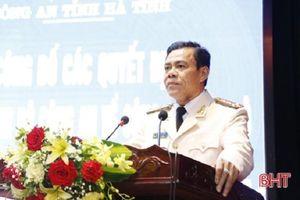 Đại tá Võ Trọng Hải làm Giám đốc Công an Hà Tĩnh