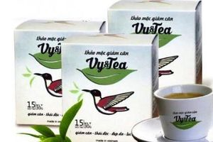 Thu hồi lô trà thảo mộc Vy&Tea xuất khẩu sang Hàn Quốc vì có chất cấm