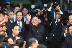 Tàu của ông Kim về nhanh hơn lúc đi, còn cách Bình Nhưỡng 320 km
