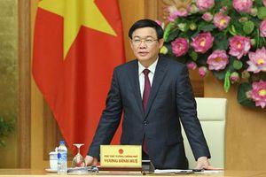 Phó Thủ tướng Vương Đình Huệ trực tiếp chỉ đạo UB quản lý vốn nhà nước